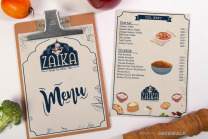food menu graphic design agency in mohali