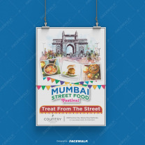 Food Promotion Design Services graphic design agency in mohali
