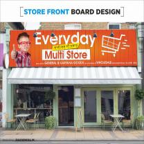 flex hoarding advertisement design services chandigarh