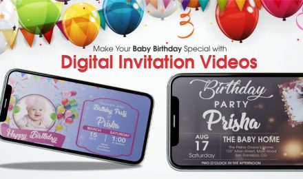 Birthday Party Invitation Video for Whatsapp