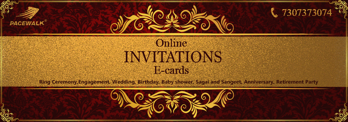 On online digital paperless invitation e-cards design company