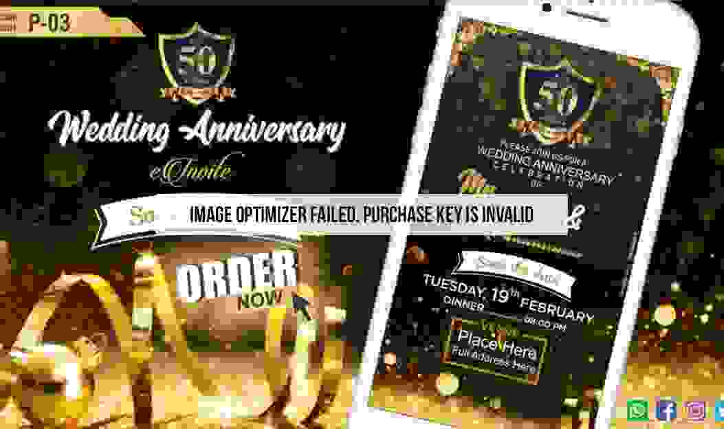 Latest Online Anniversary Invitation Videos 2020 samples