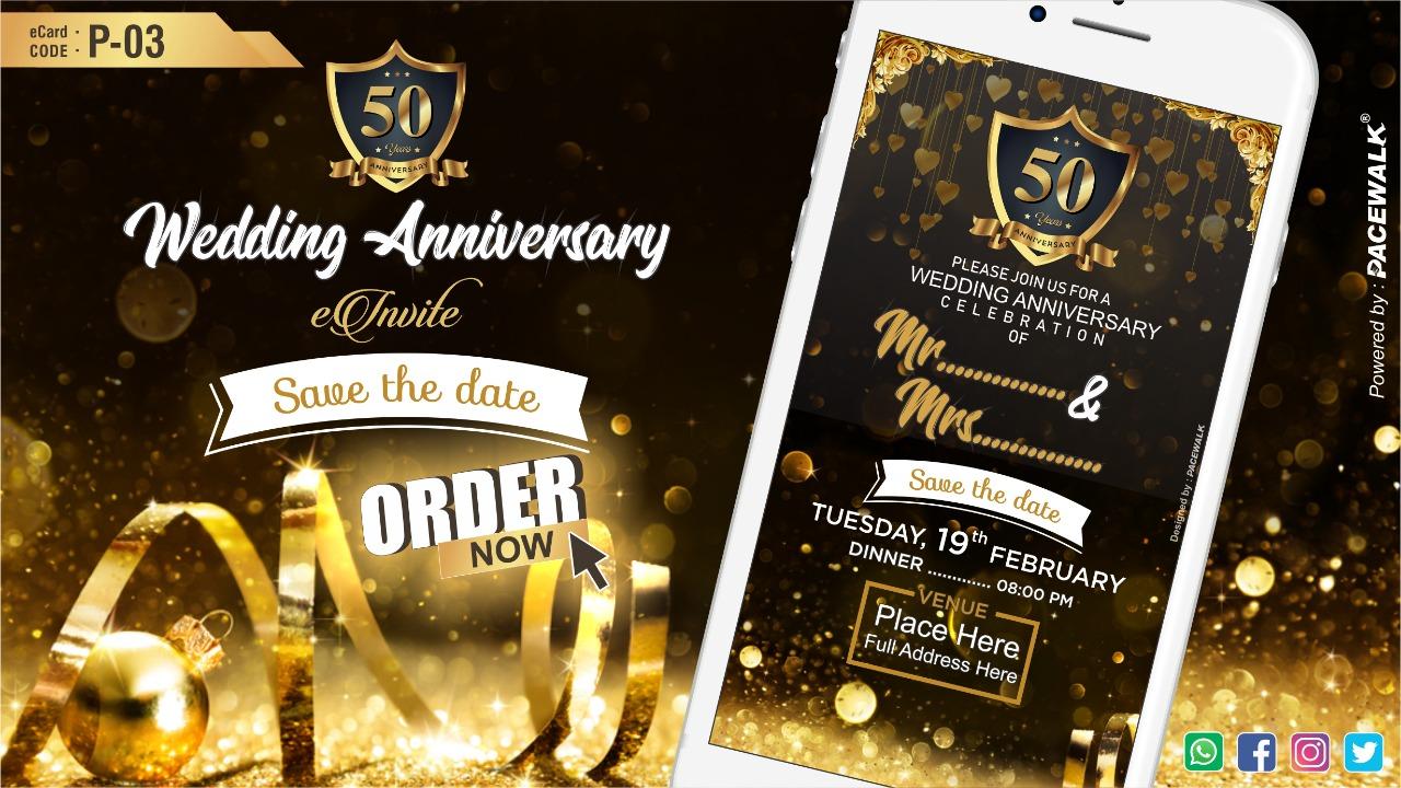 Latest Online Anniversary Invitation Videos 2020 samples