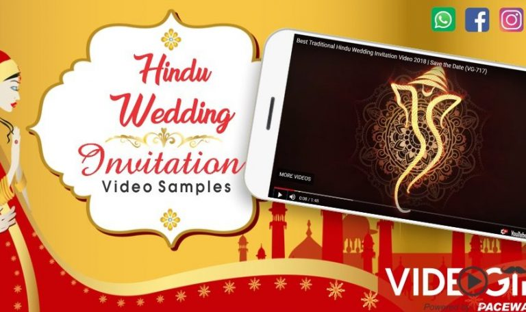 Best Hindu Wedding Invitation Videos