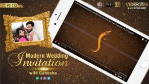 Simple, Romantic & Graceful Modern Wedding Invite Video Samples