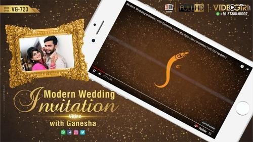 Romantic & Graceful Modern Wedding Invite Video Samples