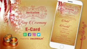 Best Ring Ceremony Invitation Video Samples