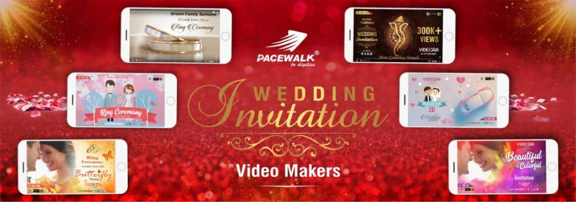 Wedding Invitation Video Makers