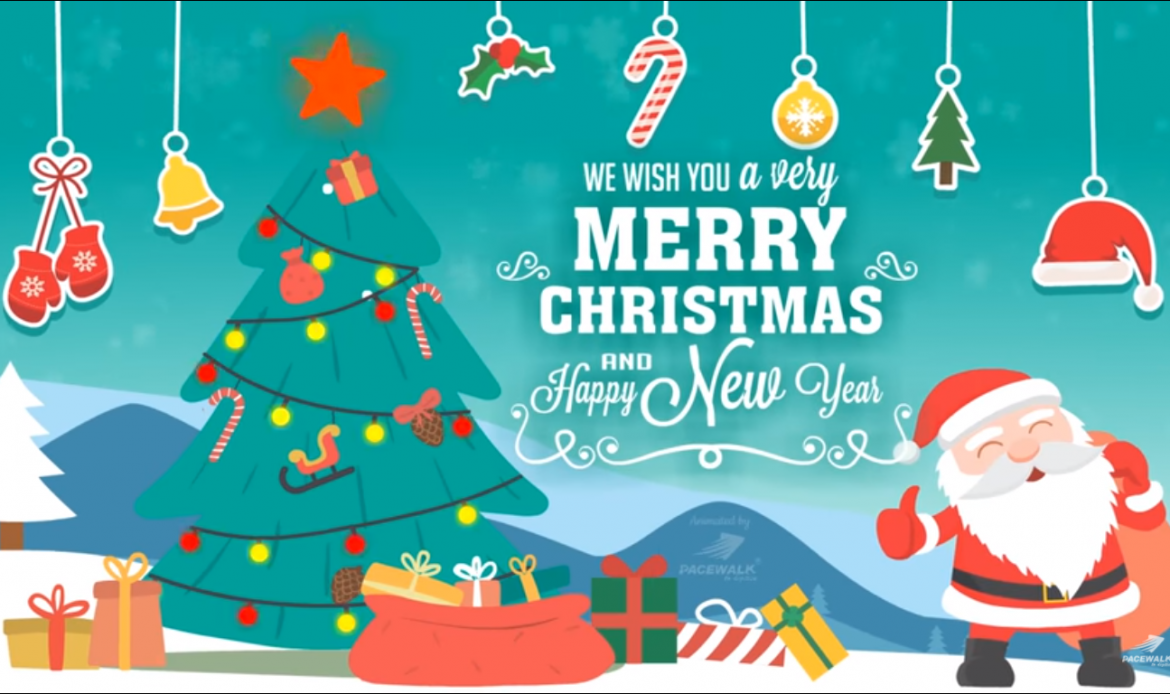 Best Merry Christmas Animation Video, Christmas wishes, Christmas 2018 | Sample Videos