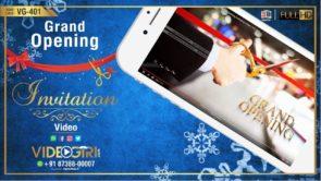 Shop Opening Invitation Video | Grand Opening Invitation Video | VG-401