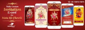 Mata Ki Chowki Invitation Video Samples