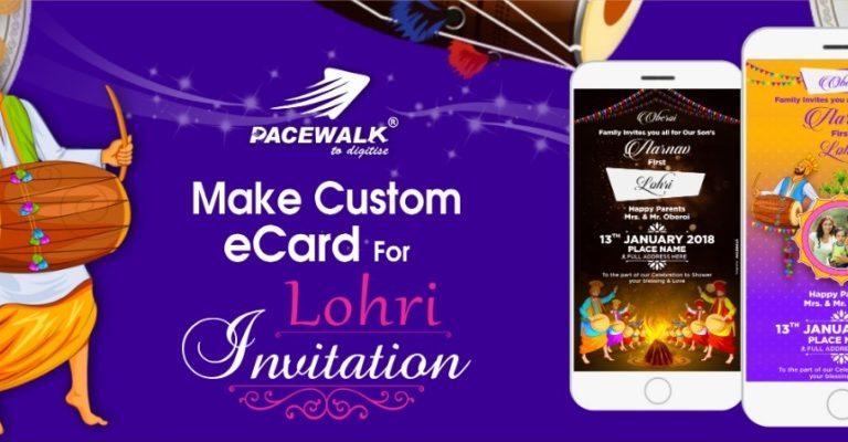 Lohri Invitation eCard