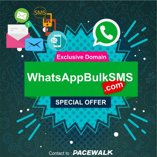 WhatsApp BulkSMS - Domain For Sale