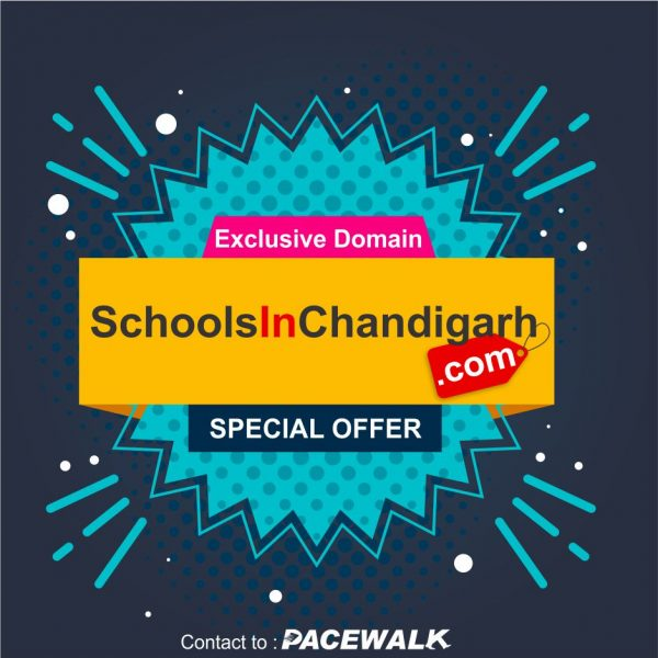 Schools in Chandigarh - Domain For Sale