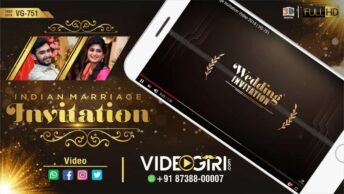 Indian Marriage Invitation Video 2019