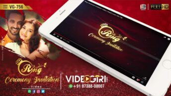 Royal Ring Ceremony Invitation Video