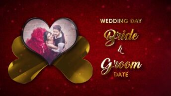 Indian traditional Wedding Invitation Video