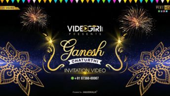 Ganesh Chaturthi invitation Video