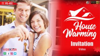 Best Housewarming Ceremony Invitation Video