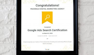Google Certified Company in Chandigarh