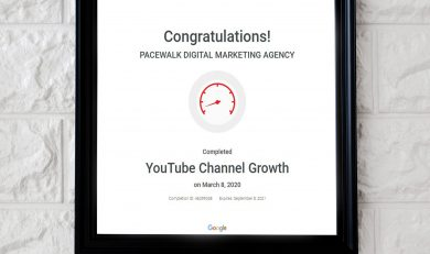 Youtube Certified Company in Zirakpur
