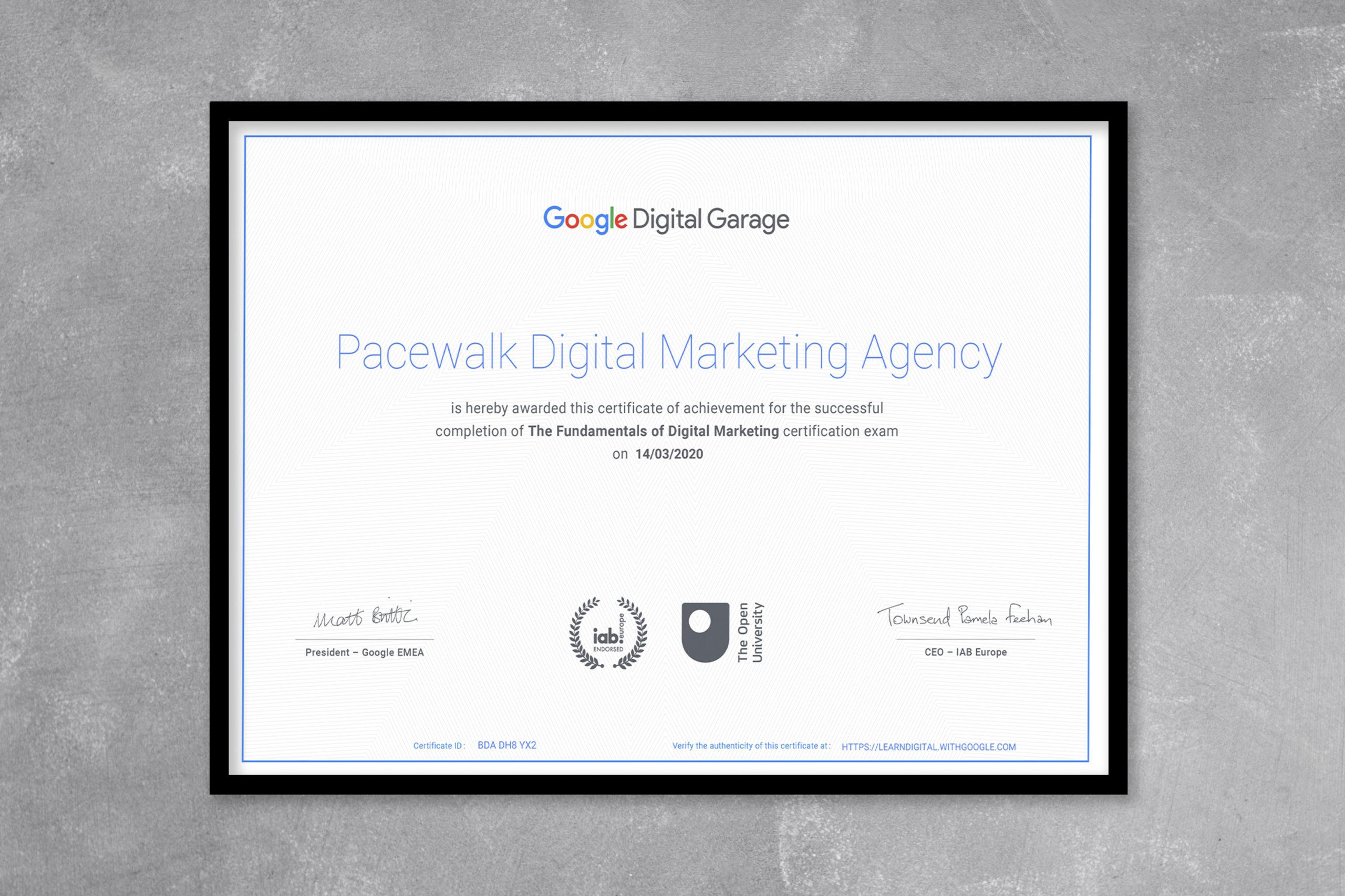 Google ads Certified Company in Chandigarh